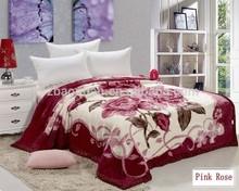Hot sell blanket acrylic mink blanket