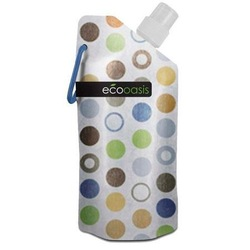 smart planet 16oz Eco.oasis foldable water bottle