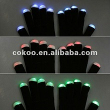2015 happy new years party use products flashing magic led gloves