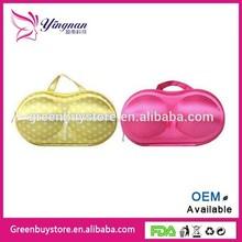 Bra Storage Bag, Travel Portable Bra Storage Container with Zipper