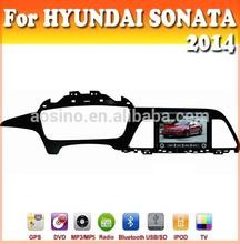 touch sreen car dvd with GPS Navigation for HYUNDAI SONATA 2014 car audio radio with bluetooth ipod car dvd gps