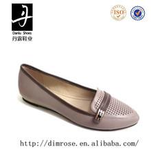 fashion flat lady no heel casual shoe punk shoes slip on hot sale