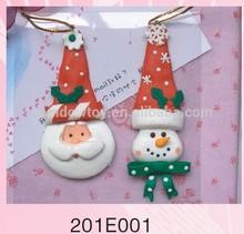 Fashional Style Cheap polymer clay christmas Santa Claus ornament dolls
