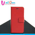 Top sell phone leather case for iphone 6 With credit card holder stand function phone pouch