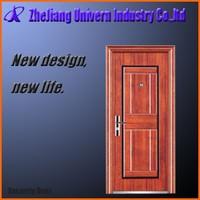 steel exterior door jambs/steel security door/metal iron door