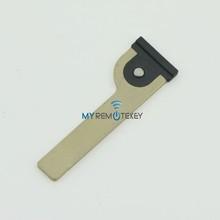 emergency key transponder key for Toyota smart key blade