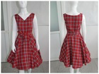 Quanzhou Walson China 50s 60s pinup Housewife Vintage Retro Swing Dress Rockabilly
