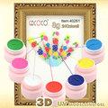 3d de arte de uñas de acrílico uv gel de modelado #40261w