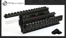 Vector Optics Tactical AK 47 / 74 RIS Handguard Quad Picatinny Rail System Mount Free Cover Guards Gun Accessories