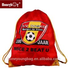 Popular drawstring bag for sport team