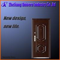 beautiful picture design wrought iron decoration entrance doors/steel security door/metal iron door