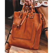 Hot selling leather tote bag fashion leather messenger bag very cheap leather bags woman wholesale