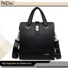 Hot-Selling high quality men fashion genuine leather handbag