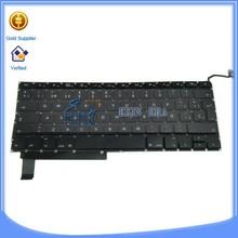 "Original For Macbook Pro 15"" A1286 Keyboard Layout Spanish Keyboard"