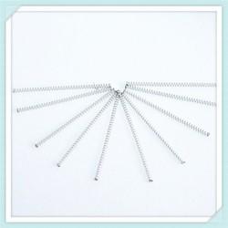 0.8mm few coils hardware part compression spring manufacturer