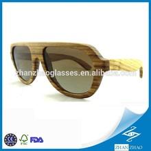 Polarized Lens Waterproof Wooden Sunglasses OEM Wood Glasses