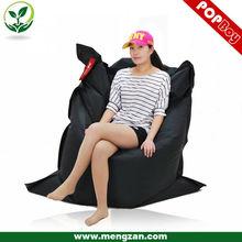high back adult bean bag chair , big pillow bean bag , indoor bean bag