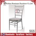 Acolchoado alumínio e aço cadeira Tiffany