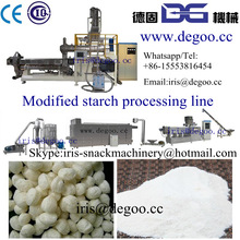 Corn modified starch for oil drilling making machine /extruder made in China