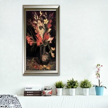 Home decoration Vase with Red Gladioli art painting by Van Gogh