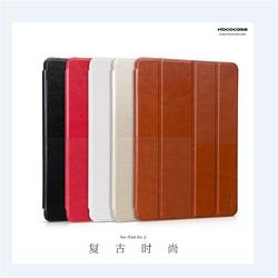 Original HOCO Retro Design Folded Leather Smart Cover Case for iPad Air 2