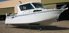 7.5M center cabin Aluminum sport fishing watrt-skating small yatch boat