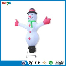 2014 portable inflatable sonwman/inflatable wihte sonwman/inflatable sonwman