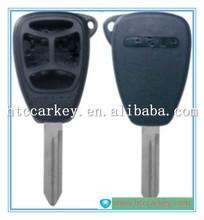 for Chrysler key 3+1 Button car Remote Key Shell key blanks wholesale