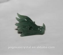 2014 Best quality Top sale factory price wholesale aventurine carving green aventurine pendants