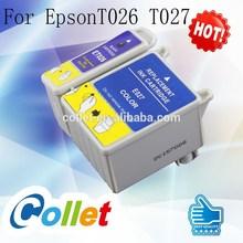For Stylus Photo 810/820/830/830U/925/935 inkjekt printer 5 COLORS ink cartridge for EpsonT026 T027