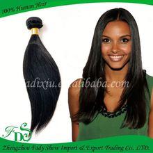 Hot sell virgin brazilian hair straight weave no tangle