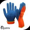 srsafety de látex recubiertas guantes aislantes de goma con alta calidad