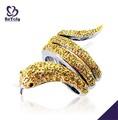 hot venda de jóias de prata moda prata exquisite anel de cobra