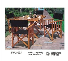 Outdoor garden courtyard wood country furniture FWM-023