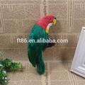Réaliste oiseau de mariage artisanat, Artificielle réplique plumes oiseaux