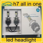 led headlight h7 6000k car led headlight 24w 2400lm led bike headlight