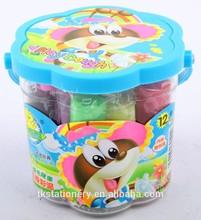 Plastic bucket kids toy super light clay