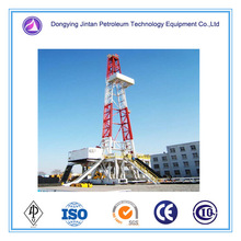 Inland skid mounted or truck mounted 7000m Drilling Rigs