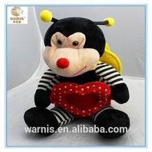 High quality custom cute bee plush stuffed toys