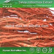 Pure Radix salviae miltiorrhizae Extract Powder Tanshinone IIA:0.3%-95%