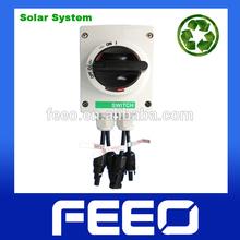 IP66 TUV CE Solar System 50A 1000V DC 4P Isolating Switch
