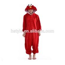 Red Sesame Street Hot Selling Ladies Sleepwear/New Style Christmas Gift HFC054