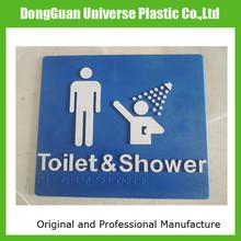Australia Braille Sign for Toilet / Shower