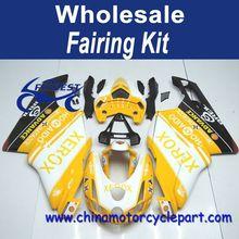 For Ducati 749 999 2003-2004 Oem Yellow For Xerox Fairing Kits FFKDU002