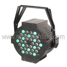 Professional 36 RGB color mixing led par flat stage light rental