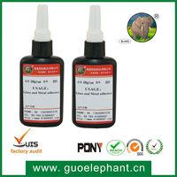guoelephant 301 UV glue for Glass and Metal UV adhesive
