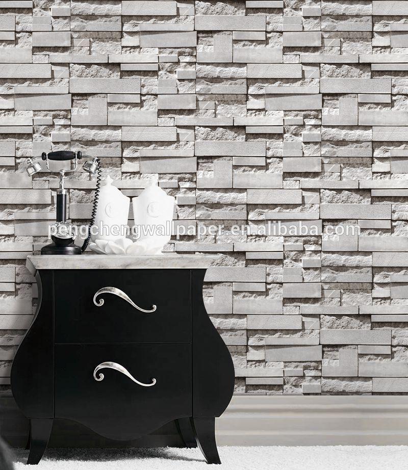 Mooiste Kleine Badkamers ~ kunststof pvc behang behang voor badkamer Wallpapers wand coating