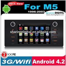SharingDigital Multi-touch Screen 1080p Wifi Car Dvd Player Navigation for bmw m5