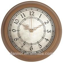 Dannol 6 inch plastic desk clock/table clock/ wall clock wholesale gift item