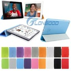 Slim Magnetic Translucent with Holder & Sleep / Wake-up Function PU Leather Case For iPad air IPad 5